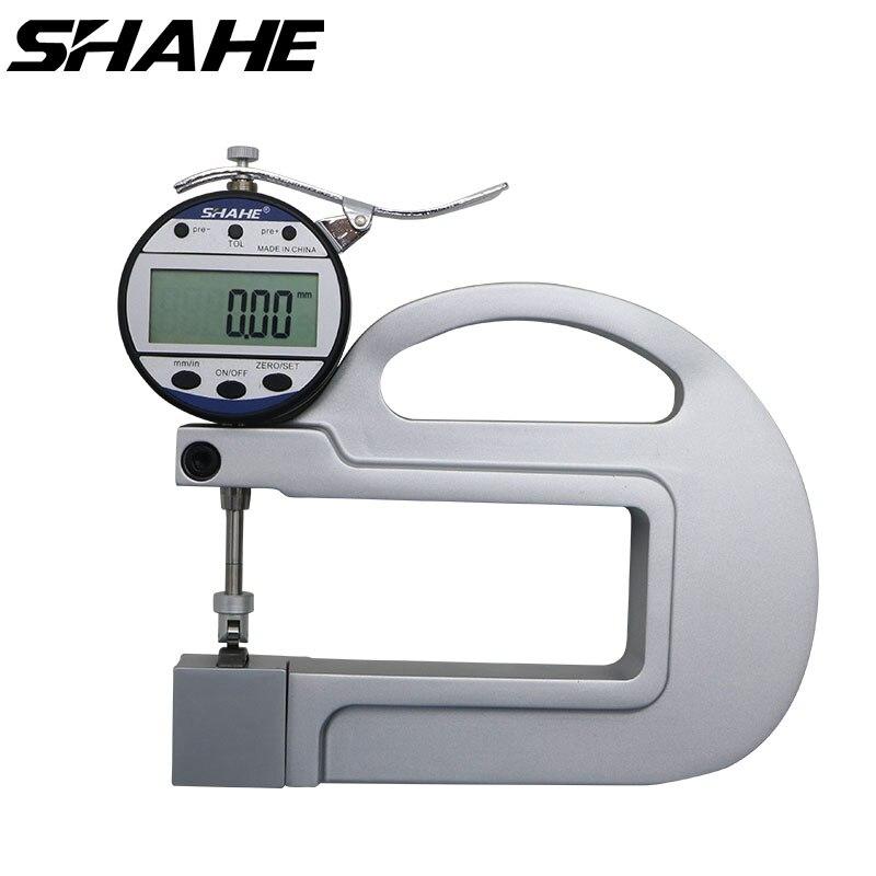 Medidor De Espesor Digital de alta calidad con inserto de rodillo medidor de espesor de papel de 0,01mm