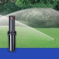 dwz lawn sprinkler high pressure 360 degrees rotating watering pop up spray head sprinkler watering 5 0 15 2 meter r garden