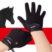 2019 gants déquitation équestres chauds unisexe professionnel résistant à lusure anti-dérapant course de chevaux Baseball Softball gants de sport