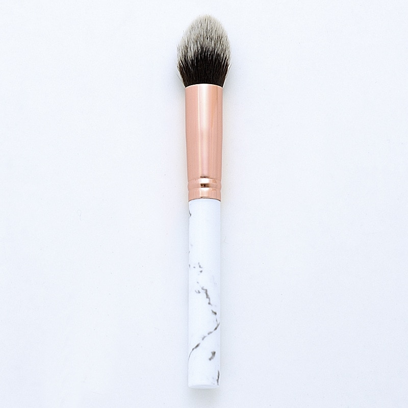 1pcs Marble synthetic hair Makeup Brushes Cosmetic Powder Eye Shadow Foundation Blush Blending Beaut