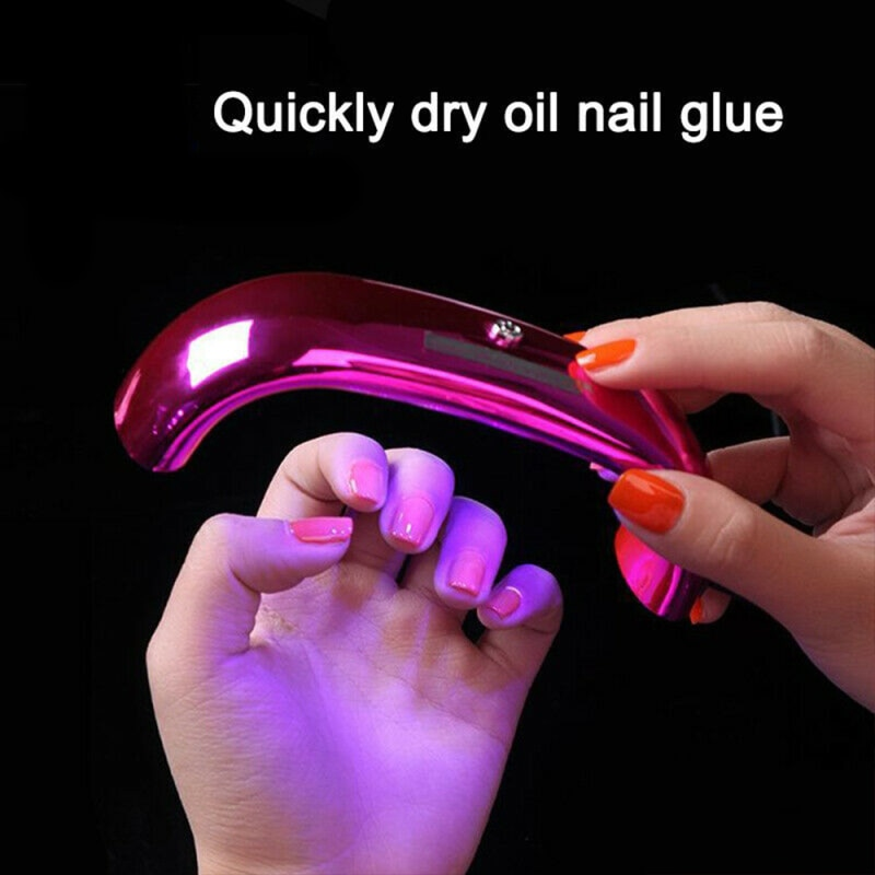 Mini 9W Gel Lamp Rainbow Nail Light Intelligent Induction Nail Lamp Portable LED Uv Lamp Professional Nail Dryer Manicure Light
