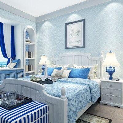 Papel de pared moderno Simple de efedra de color liso no tejido con textura 3d, decoración del hogar de gama alta para dormitorio