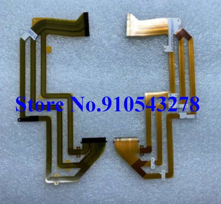 LCD hinge rotate shaft Flex Cable for Sony HDR-PJ30E HDR-PJ50E HDR-CX580 PJ30 PJ40 PJ50 CX580 PJ580 PJ590 PJ600 Video camera