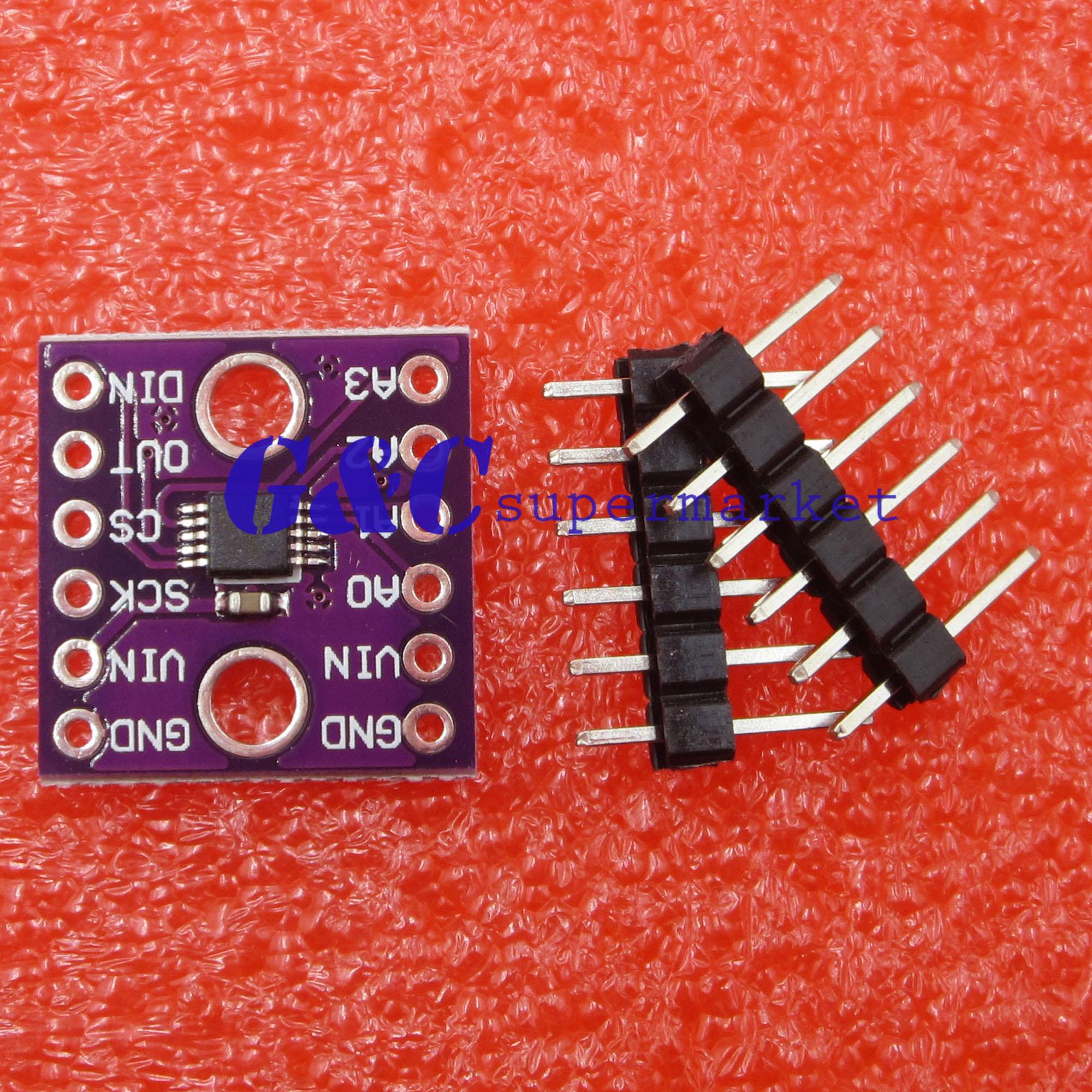ADS1118 16-bit ADC ADC SPI Comunicação Placa de Desenvolvimento Do Módulo