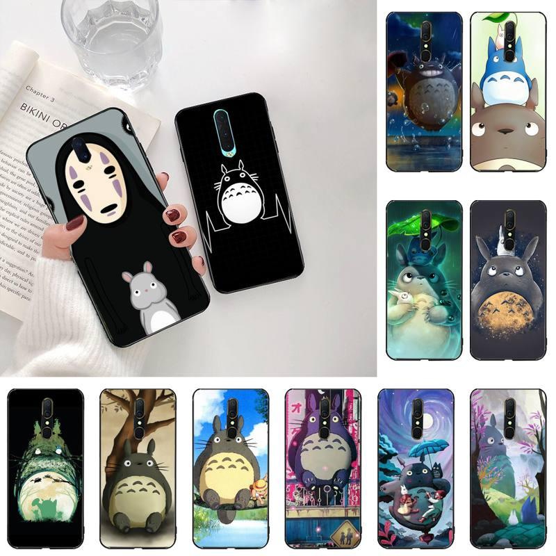 Totoro Spirited Away, Ghibli Miyazaki Anime, funda de teléfono de alta calidad para Oppo A5 A9 2020 Reno2 z Renoace 3pro Realme5Pro
