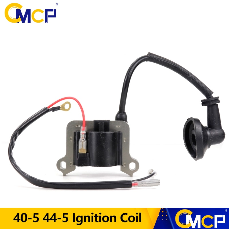 CMCP 40-5 44-5 Ignition Coil Fit For 43CC 52CC Lawn Mower Brush Cutter Grass Trimmer Accessories Garden Tools недорого