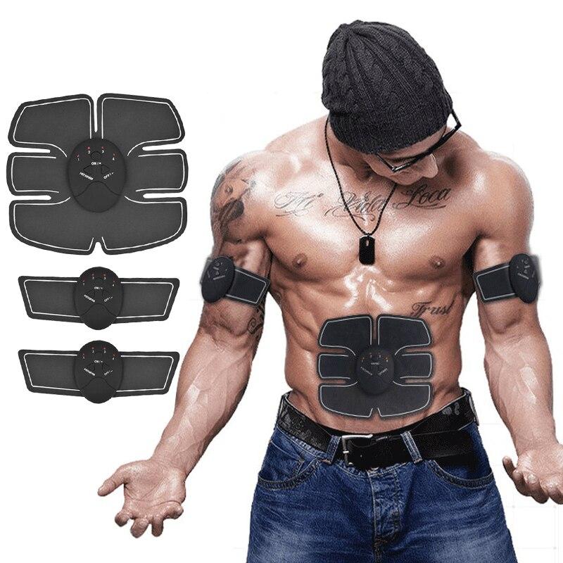 OPHAX Smart inalámbrico EMS entrenador de músculos abdominales masaje estimulador ABS entrenamiento de estimulación muscular masajeador corporal