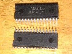 1 unidade / lote LM8560 SC8560 SC 8560 DIP-28