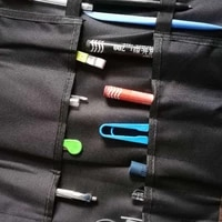 multi purpose tool pouch roll up tool bag hand tool roll pouch organizer pocket tool roll organizer for electrician