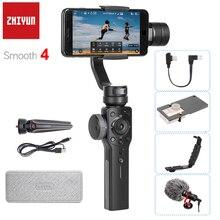 Stabilizzatore cardanico per Smartphone Zhiyun Smooth 4 Q2 a 3 assi per iPhone 11 Pro Max XS XR X 8 Samsung S10 S9 PK Feiyu Vimble 2