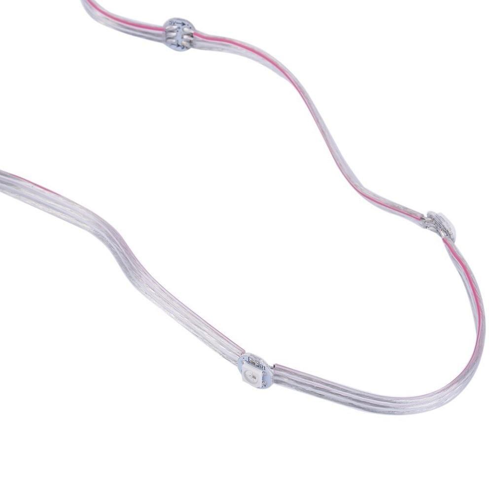 Producto en oferta, LED presoldado 50x WS2812B con cable 5V, WS2812, cable direccionable de módulo idividualmente LED, Panel de cuerdas
