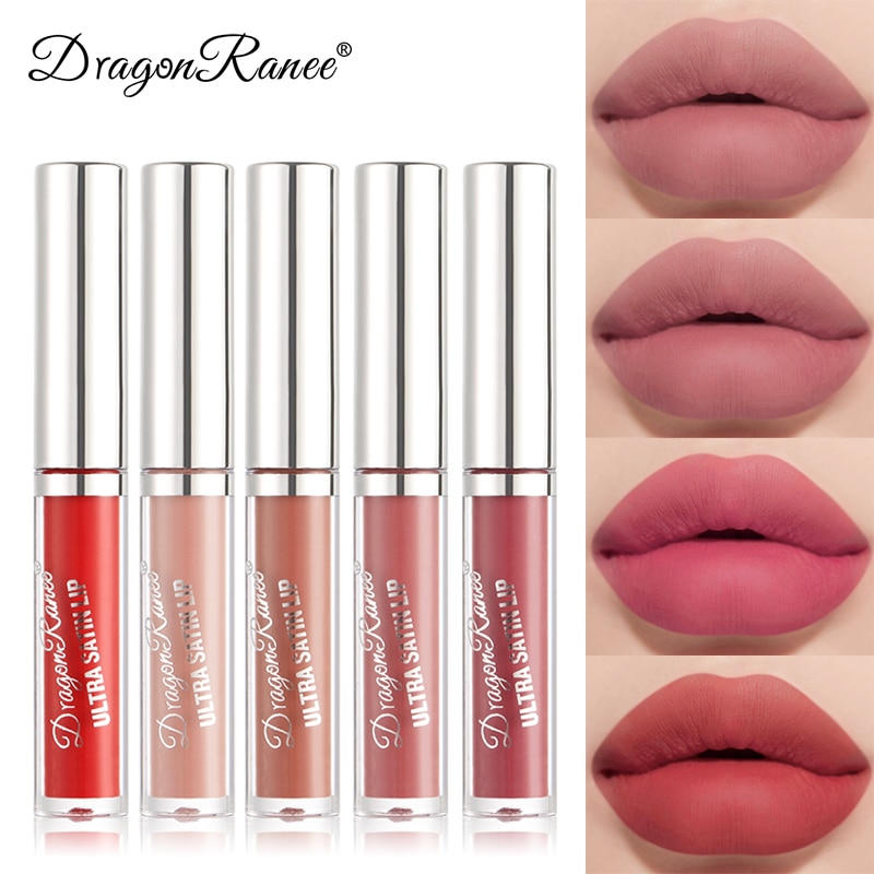 New Velour Air Lip Glaze Matte Lipstick Waterproof And Sweat-Proof Lasting Lip Glaze For Women Ladie