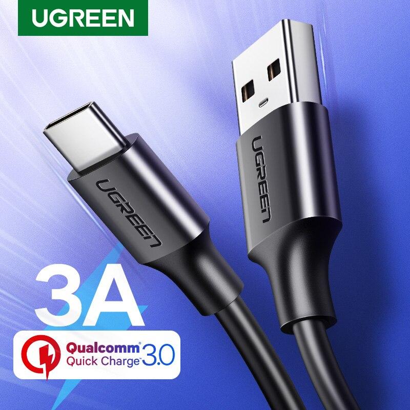 Ugreen USB tipo C para Xiaomi Redmi Note USB-C Cable para Samsung...
