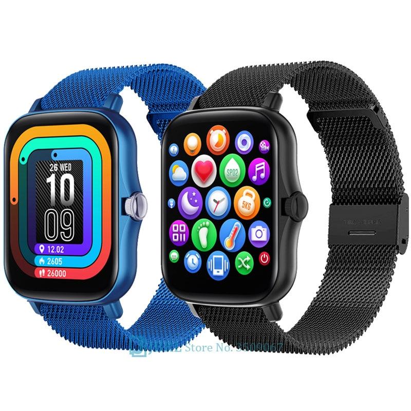 Top 2021 Smart Watch Men Women Smartwatch Electronics Smart Clock For Android IOS Fitness Tracker Sp