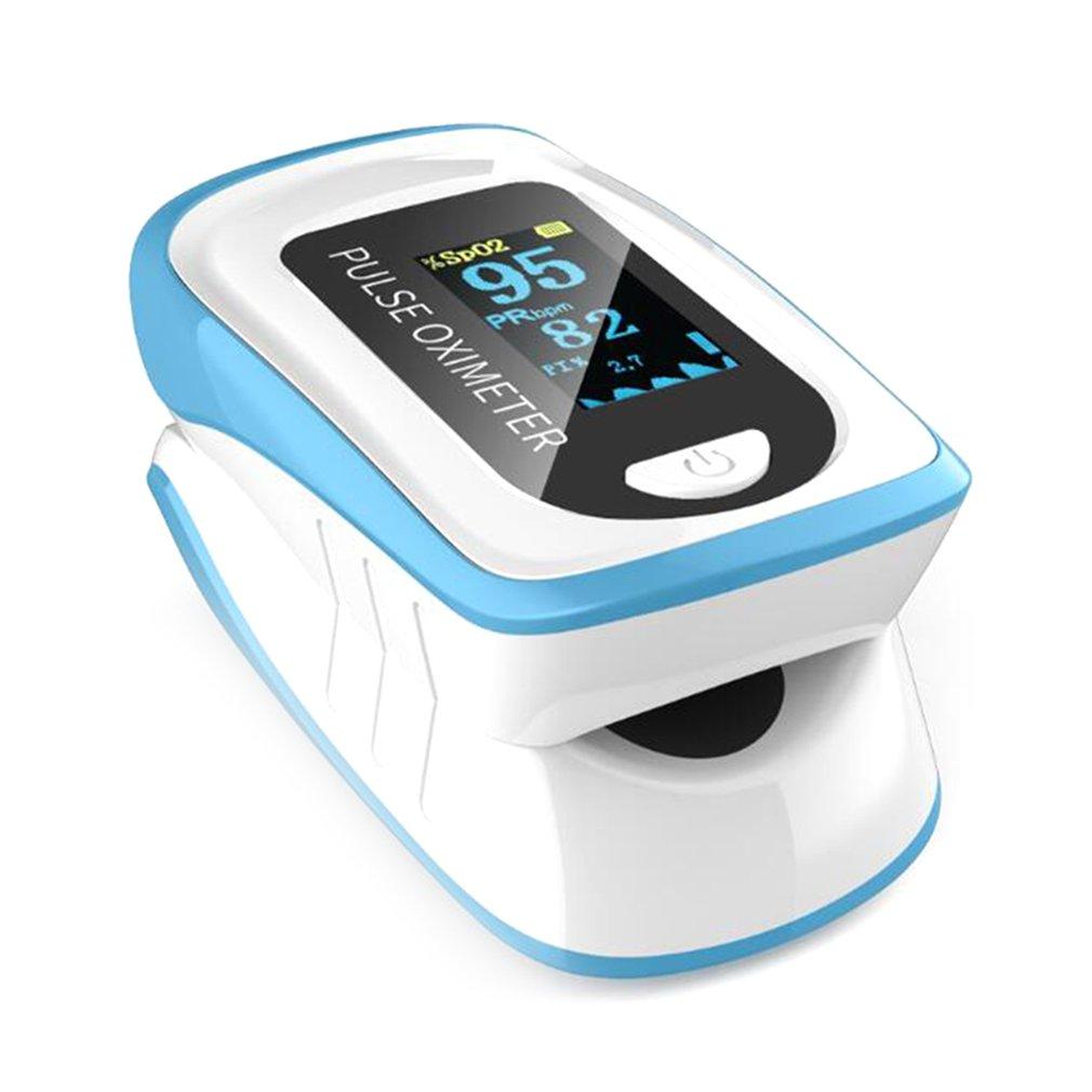 Digital Finger-Clip Pulse Oximeter Blood Oxygen A Finger Portable Meter Health