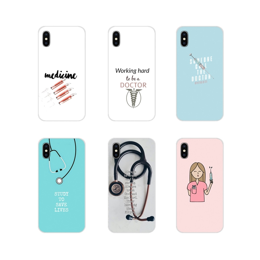Para Huawei Nova 2 3 2i 3i Mate 7 8 9 10 20 30 Lite Pro accesorios fundas de teléfono cubiertas médico Doctor enfermera medicina estudiante