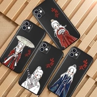new word of honor shan he ling cartoon comics for iphone 12 pro max 5 6 6s 7 8 se 2020 plus x xs xr 11 pro max phone case coque