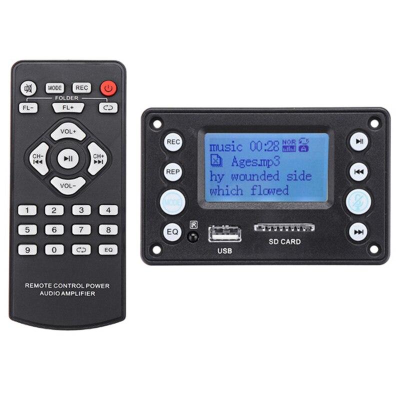 4.2Dc Bluetooth płyta dekodera Mp3 dekodowanie odtwarzacz Mp3 o moduł wsparcie Ape Flac Wma Wav Mp3 z wyświetlaczem tekstu