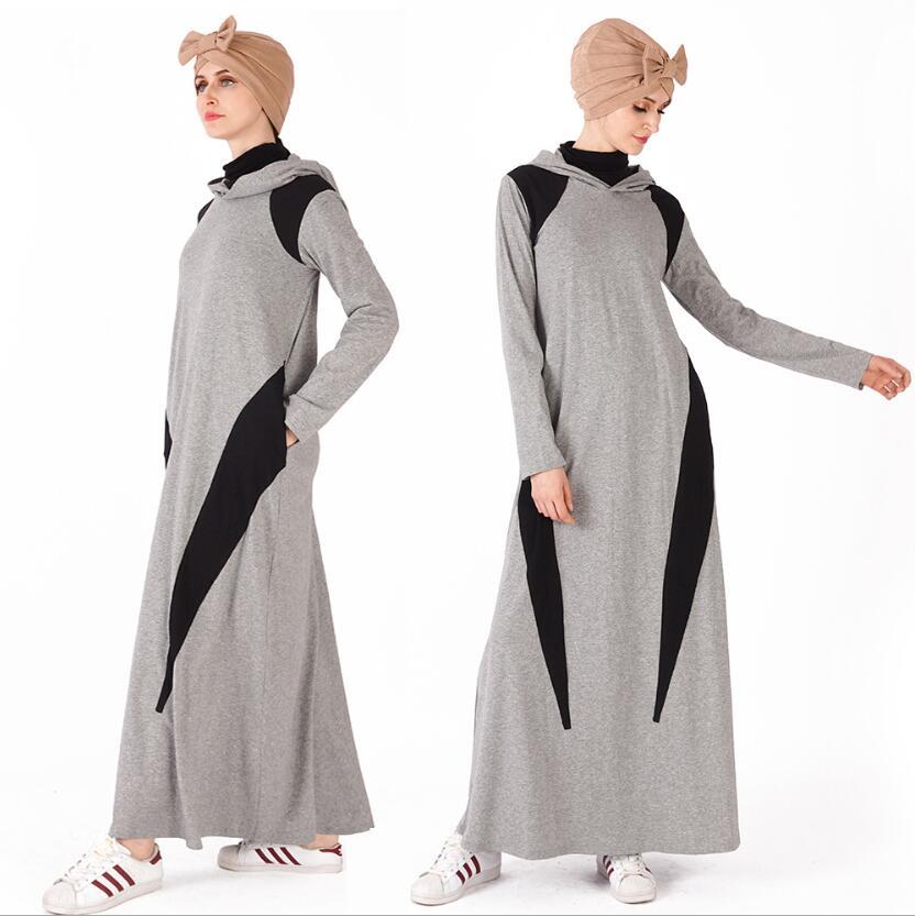 Robe Musulmane Tesettur Tunik Prayer Clothes New Abaya Pakistani Salwar Kameez Hijab Dress Turkey Women's Sports Hoodie Sweater