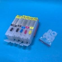 YOTAT 5pcs refill ink Cartridge BCI-350 BCI-351 For Canon PIXUS MG5430 MG6330 MG5530 MG5630 MG6530 MG6730 MG7130 MG7530 MX923