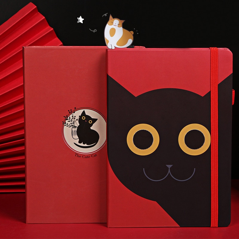 Kawaii Cat Diary B6 Notebook and Journal Paper Notepad Office School Staionery Sketchbook Agenda Planner Organizer Note Book Kit