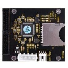 FFYY-SD SDHC SDXC MMC carte à IDE 40Pin 3.5 pouces adaptateur mâle