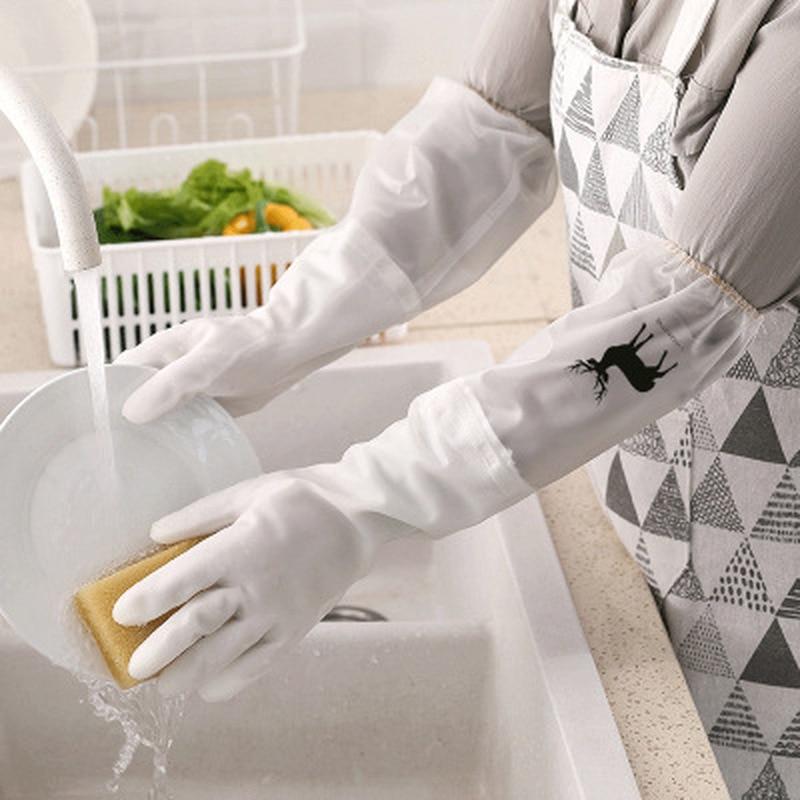 Guantes mágicos de silicona para lavar platos, ropa impermeable, antideslizante, resistente al desgaste y duradero, guantes de limpieza, herramienta de limpieza de cocina