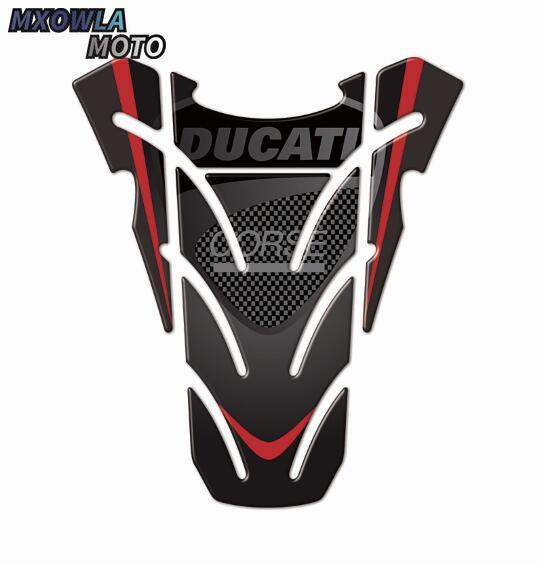 3D Motorcycle Tank Pad Protector Case for  logo Decals