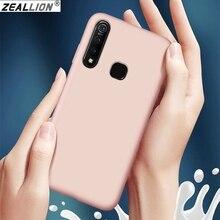 Zeallion for Vivo IQOO 3 V17 X30 Pro X7 Plus S5 S6 Y50 Ultra Thin Liquid Rubber Soft TPU Shockproof Protective Phone Case
