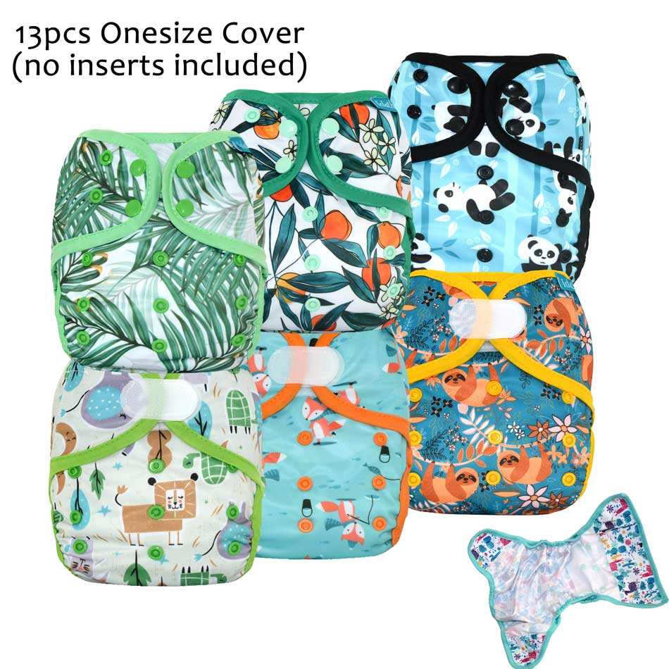 13pcs/lot onesize diaper cover wholesale,special prints,waterproof and breathable,fits 3-15kg