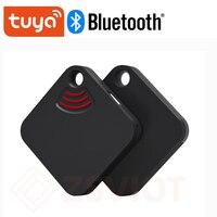 Смарт-трекер Tuya для детей, устройство для обнаружения местоположения домашних животных, Bluetooth, смарт-трекер, защита от потери