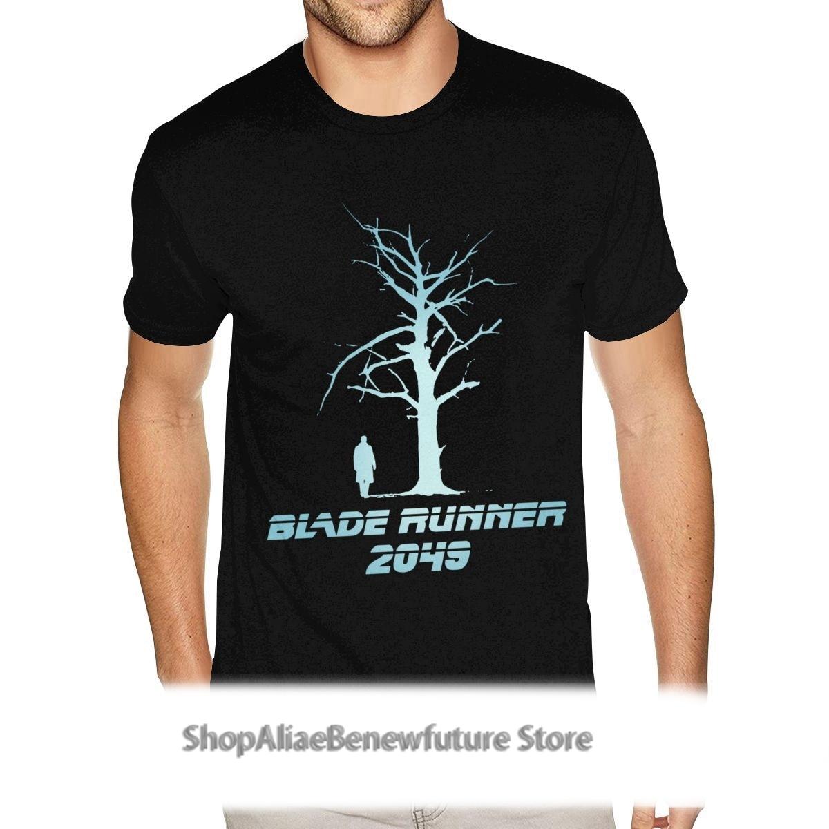 Camiseta personalizada con estampado de Blade Runner para hombre de camisas de...