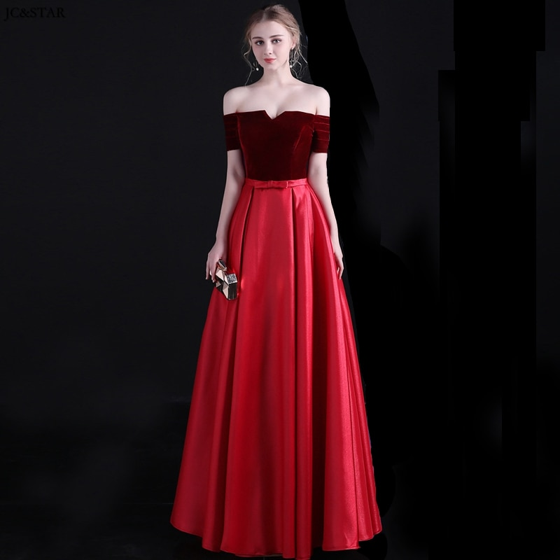 Vestidos de dama de honor para boda, ropa de satén de terciopelo,...