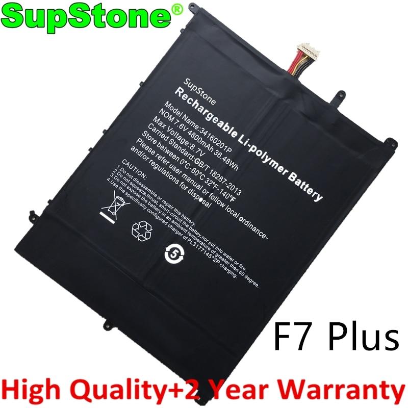 بطارية لاب توب 30154200P 34160201P جديدة من SupStone لهواتف tecpost F7 Plus 38Wh