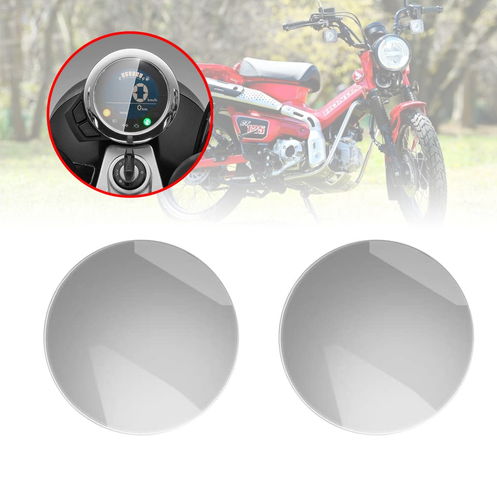 Motorcycle Cluster Scratch Protection Film Screen Protection Film Accessories 2 sets For Honda CT125 Hunter Cub 2020 2021