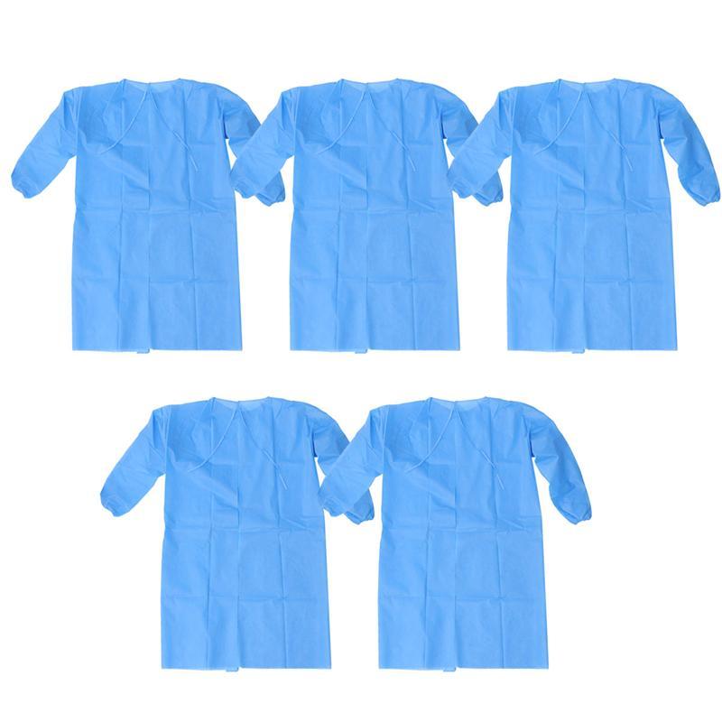 10 pièces/100 pièces jetable non-tissé vêtements de protection, imperméable respirant vêtements de sécurité, vêtements d'allaitement