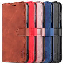AZNS Leather Wallet Case for iPhone 12 Pro Max Mini 11 XS XR X SE2 8 7 6 6s Plus Luxury Flip Cover Coque Card Slots Magnetic