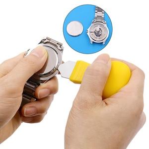 Watch Repair Tool Repair Tool Back Cover Remover Cover Remover  Tools Plastic Durable Plastic Portable Yellow Watch Case Opener