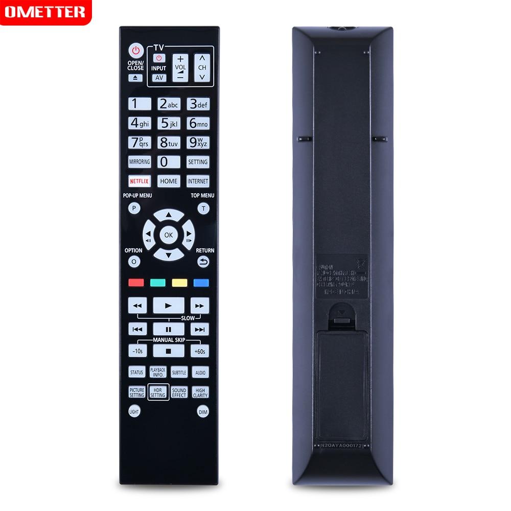 Controle remoto n2qaya000172 DMP-UB700 DMP-UB704 DP-UB9000 DP-UB9000-K DP-UB9000EBK ultra hd blu-ray disc player