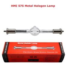 Frete grátis hmi 575/2 estágio lâmpada de varredura 575 w moving head luz lâmpadas hmi575w scanner profissional luzes metal lâmpada halógena