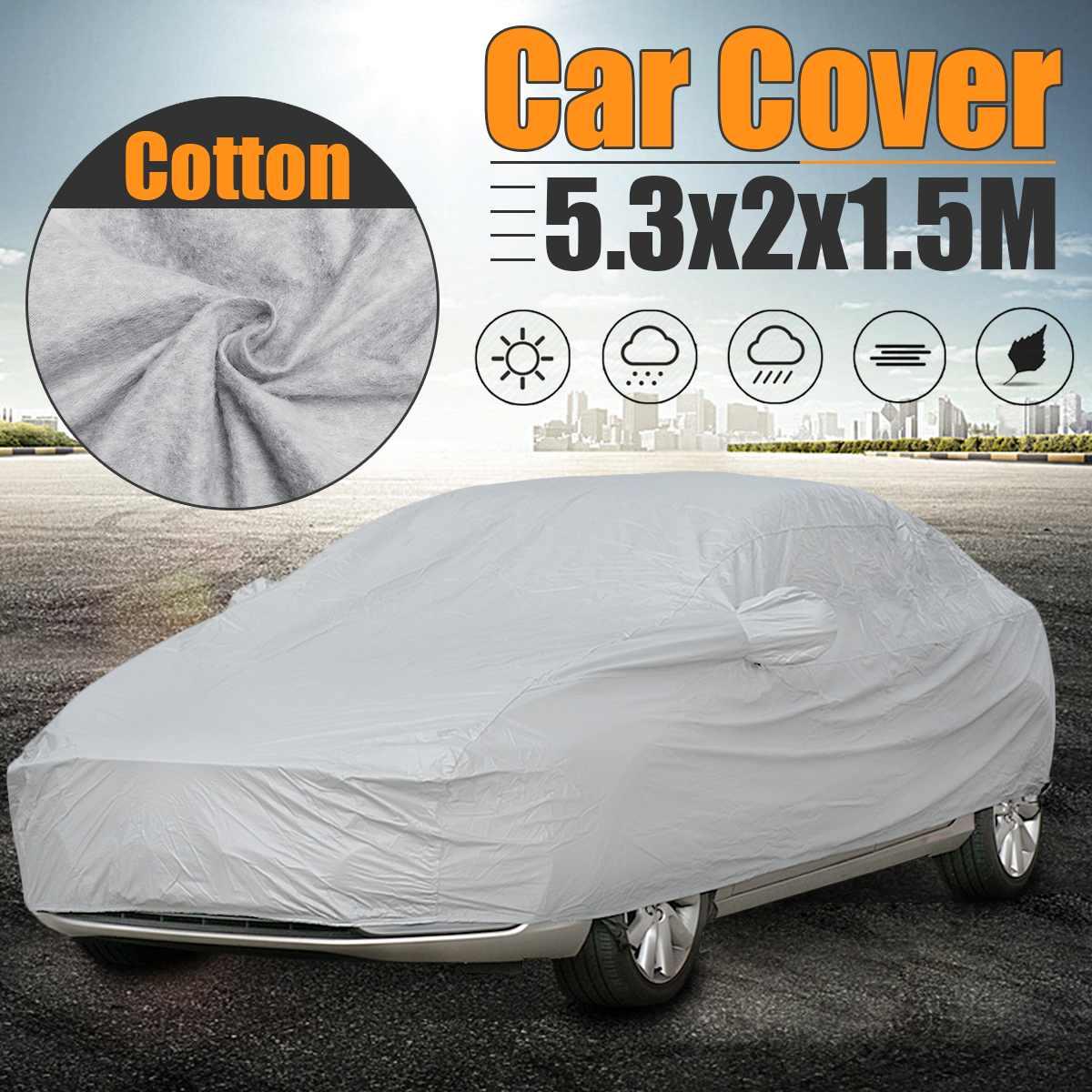 M/L/XL/XXL Full Car Cover Sunshade Sun Visor Protector Auto Ice Frost Resist Waterproof Dustproof Covers