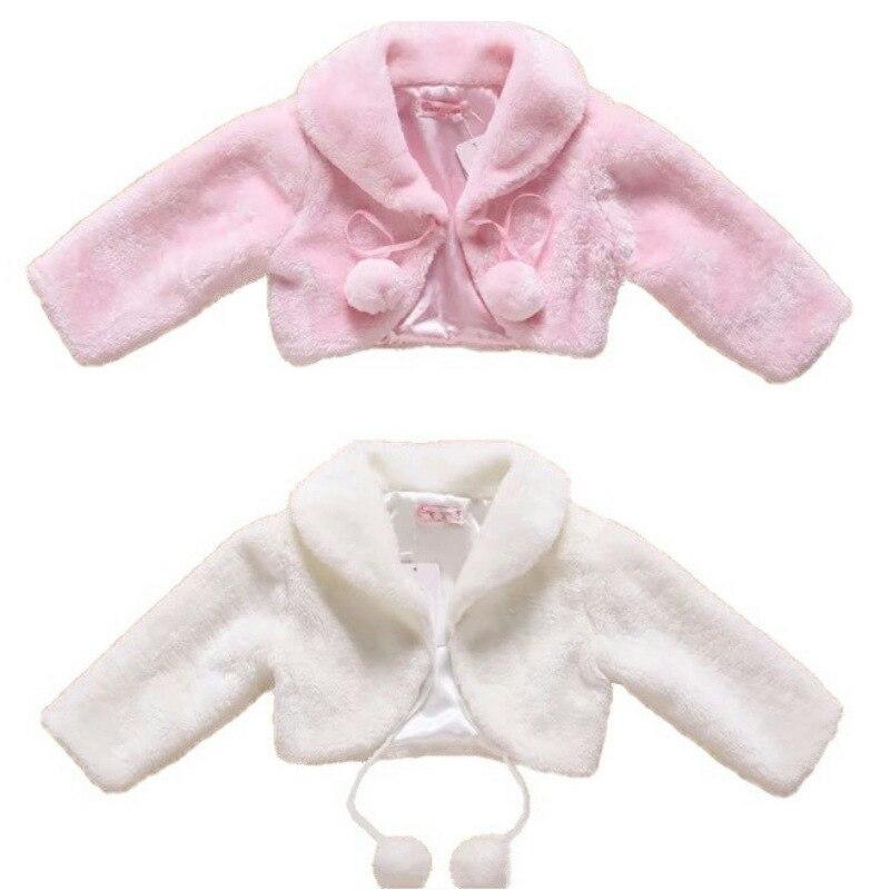 Abrigo de lana para niños de Amazon, superventas, de invierno, grueso, manga larga, cálido, para bodas, flores, niños, niñas, Faux Leather cao mao To
