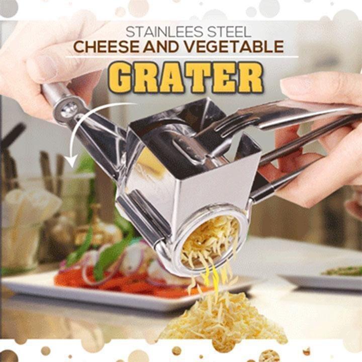 الفولاذ المقاوم للصدأ الجبن الخضروات مبشرة فعالة الجبن الشوكولاته مطحنة أدوات مقشرة أدوات المطبخ