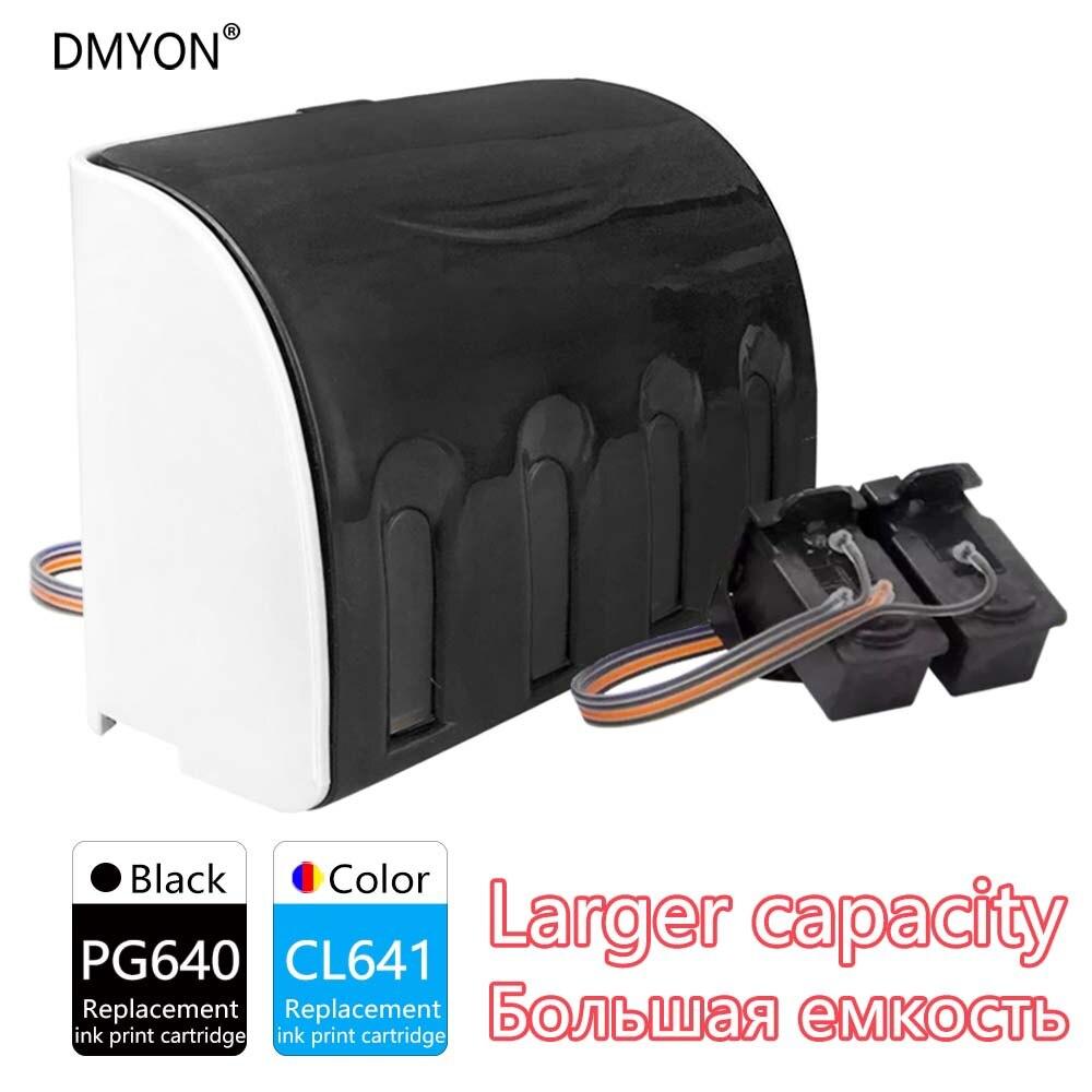 ciss recarga de cartuchos de tinta compativeis para canon pg640 cl641 mx456