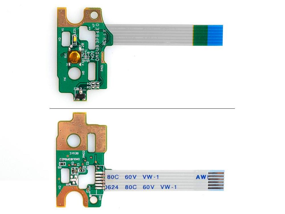 Новый кабель для ноутбука для кнопки питания плата с кабелем для hp павильон 14 14-N 15-N PN: DA0U83PB6E0 DA0U83PB6B0 DA0U83PB6C0