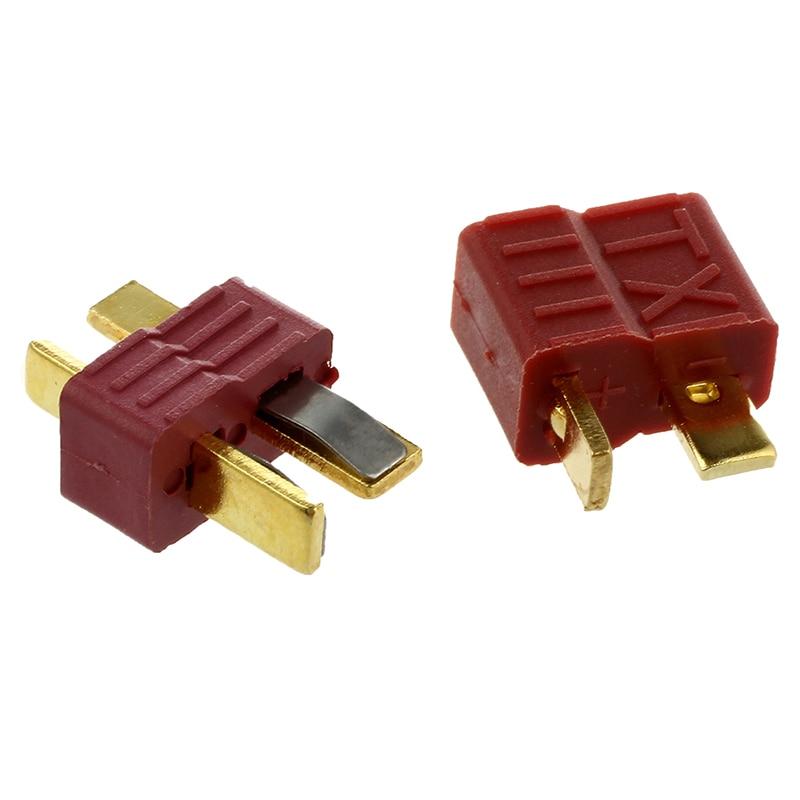 Modelo RC juguetes batería Y309 Deans tipo T enchufe antideslizante M/F conector 10 pares