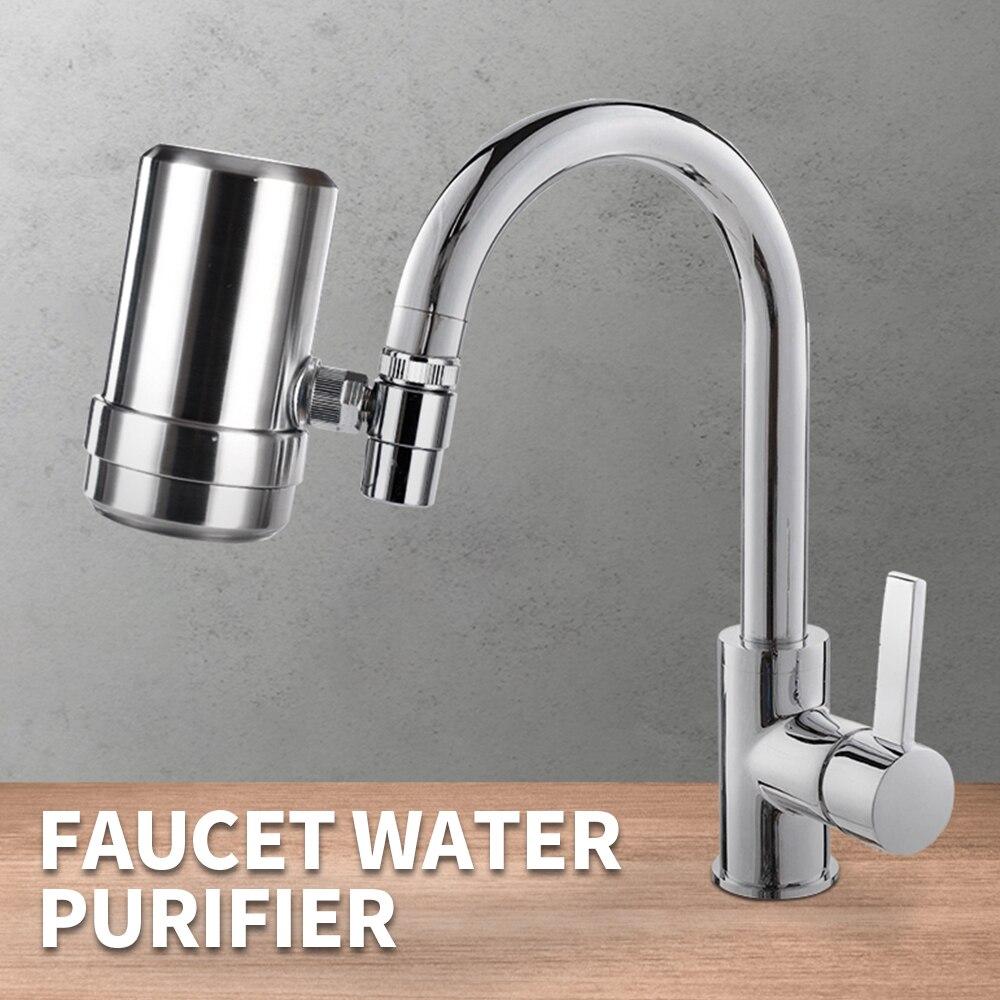 Прочный Водоочиститель для крана, моющийся керамический Перколятор для чистого кухонного смесителя, фильтр для воды, стойкий фильтр для ржавчины и бактерий