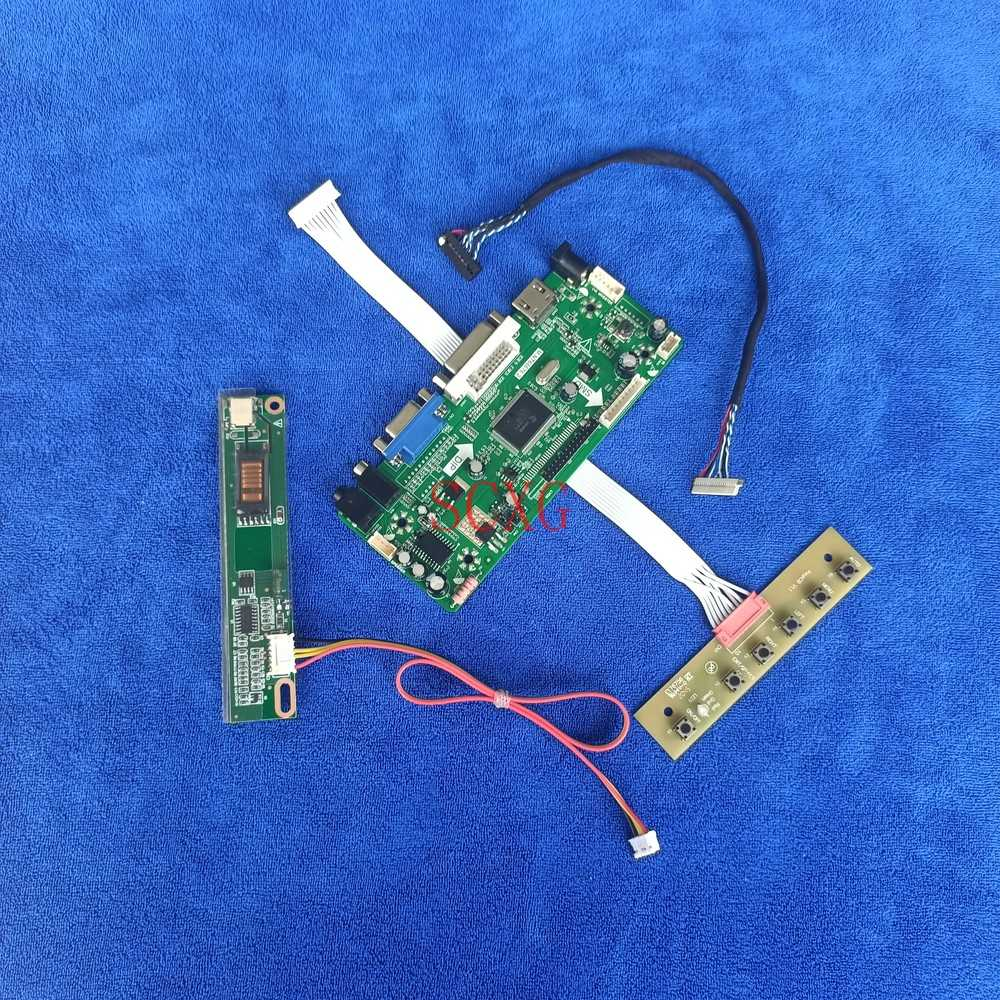 1024*768 شاشة DVI VGA HDMI-متوافق صالح N141X3/N141X5/N141X6/N141X8 عدة 20 دبوس LVDS 1CCFL M.NT68676 تحكم لوحة للقيادة