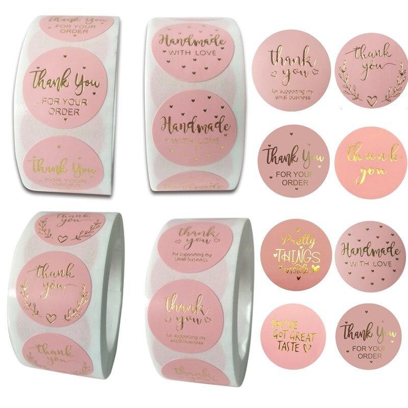 pegatinas-rosas-de-agradecimiento-etiquetas-de-aluminio-hechas-a-mano-para-el-hogar-sellos-de-sobre-de-boda-1-''-500-uds