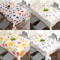 european style oil proof table cloth wash free table cloth rectangular dining table cloth tea table mat table mat